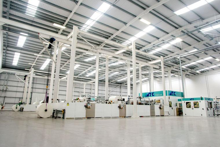 Accrol Papers - Phase 2 Gamma Building, Blackburn