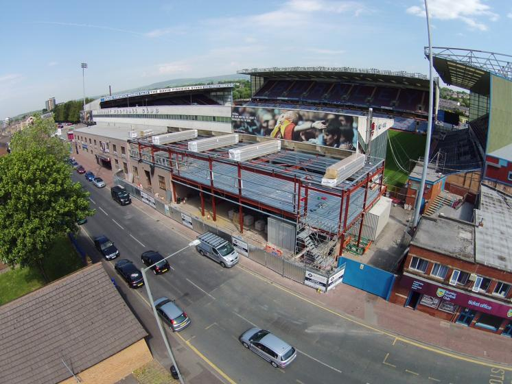 Bob Lord Stand Extension, Burnley FC