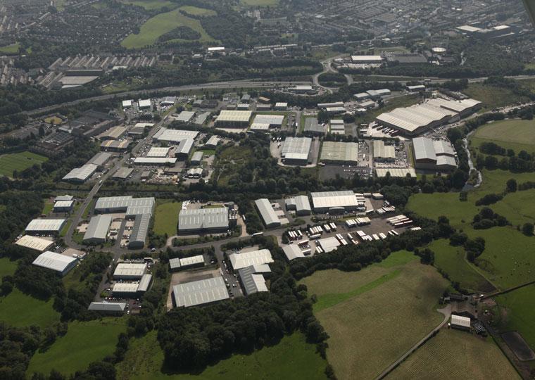 Lomeshaye Industrial Estate, Nelson