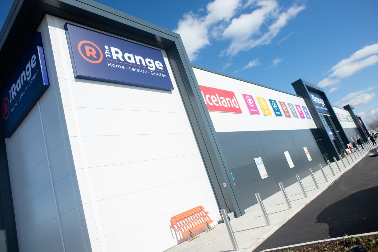 The Range & Iceland - Leigh 1D, Parsonage Retail Park