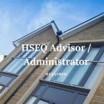 HSEQ Advisor / Administrator