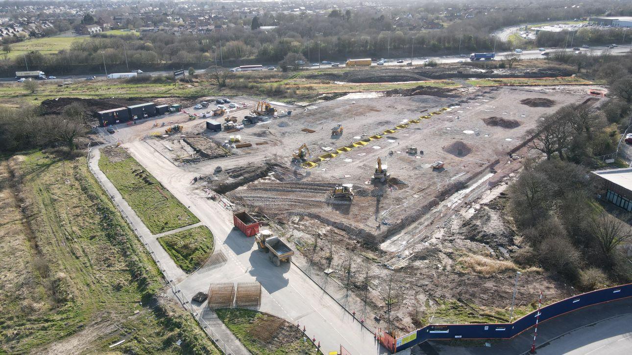 EAST, Preston Barnfield Construction