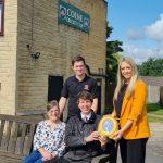 Barnfield Donate Life-Saving Equipment to Colne Cricket Club